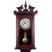 Relógio De Parede Carrilhão A Cordas Ipê Novo Herweg 5398