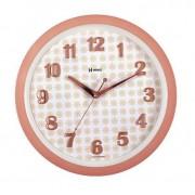 Relógio De Parede Moderno Rosé Fosco 34,6 Cm Herweg 6821-319