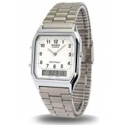 Relógio Feminino Casio Analógico/Digital Social Aq-230A-7Bmq