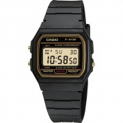 Relógio Masculino Casio Digital Vintage F-91Wg-9Qdf