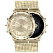 Relógio Technos Feminino Dois Em Um Dourado 9 T33 Aa/4 X