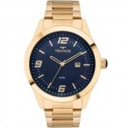 Relógio Technos Masculino Aço Dourado - 2115Mnz/4A