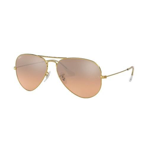 Óculos De Sol Ray Ban Aviador Rb3025 Gradiente Original