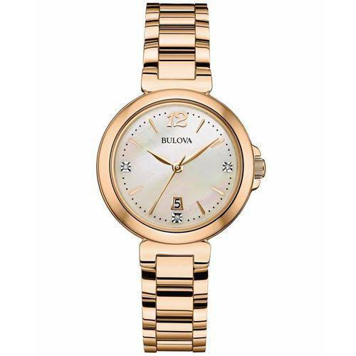 Relógio Bulova Feminino Ref: Wb27930H