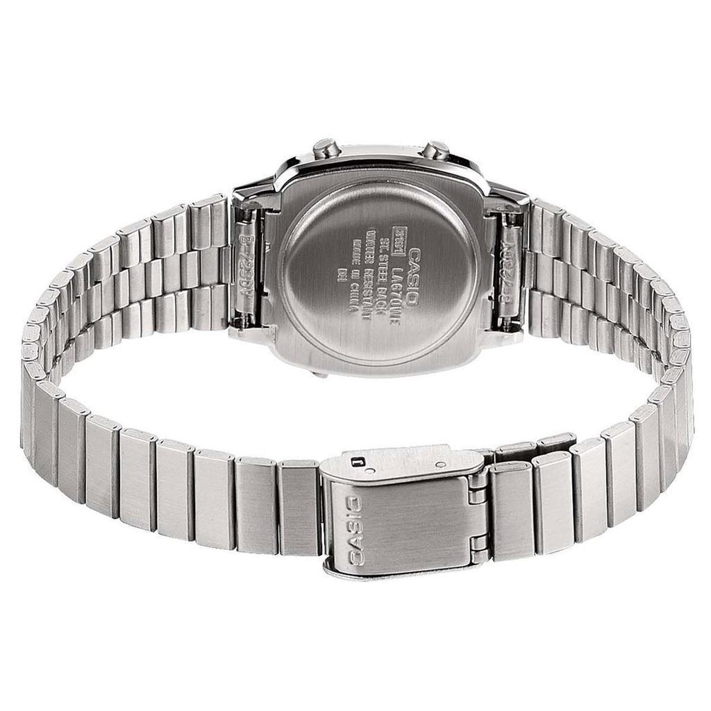 Relógio Casio Feminino La680Wa-1Bdf