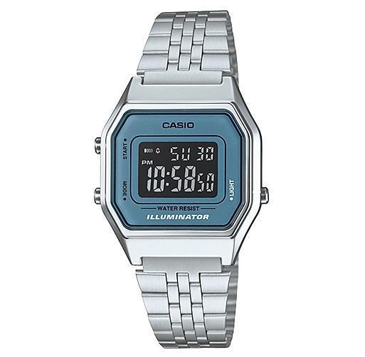 Relogio Casio La680Wa-2Bdf Cronometro Alarme Vintage