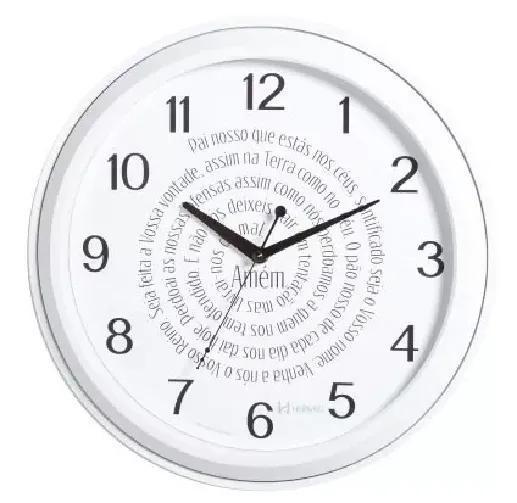 Relógio De Parede Herweg 660067 Pai Nosso
