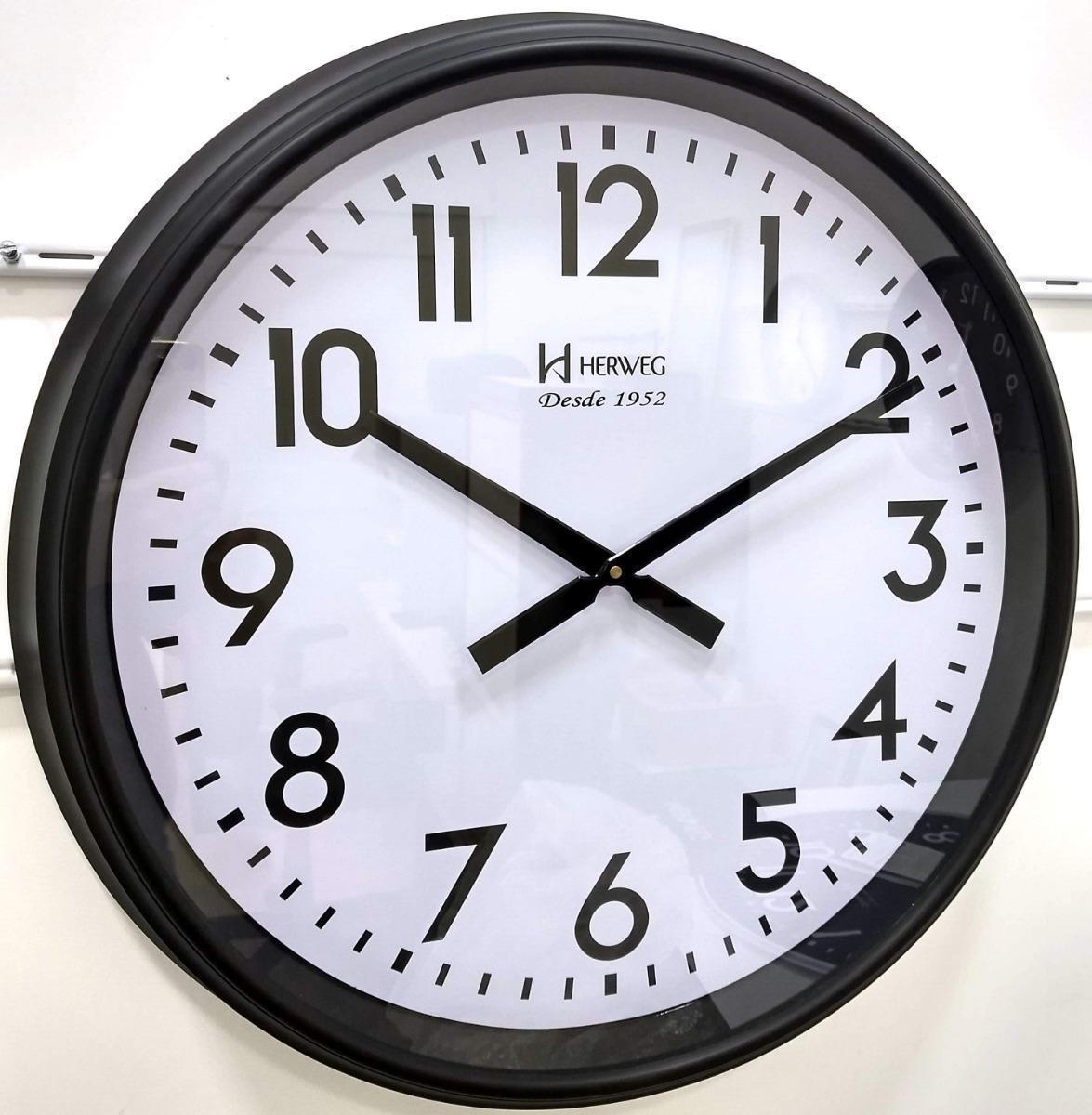 Relógio De Parede Herweg Ref: 6463-021 Branco
