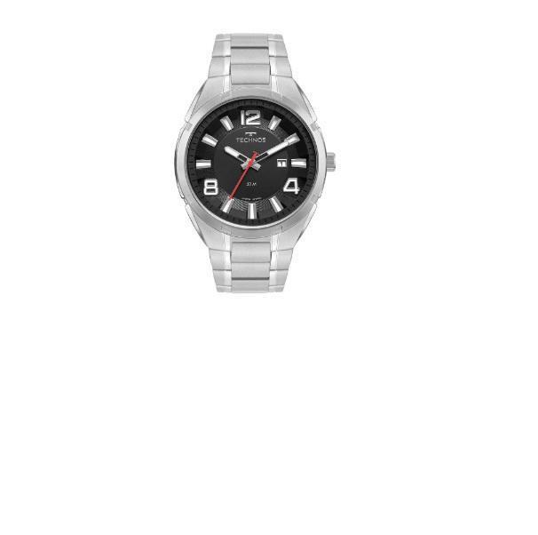 Relógio Masculino Technos Racer Prata 2117Lcz/1P