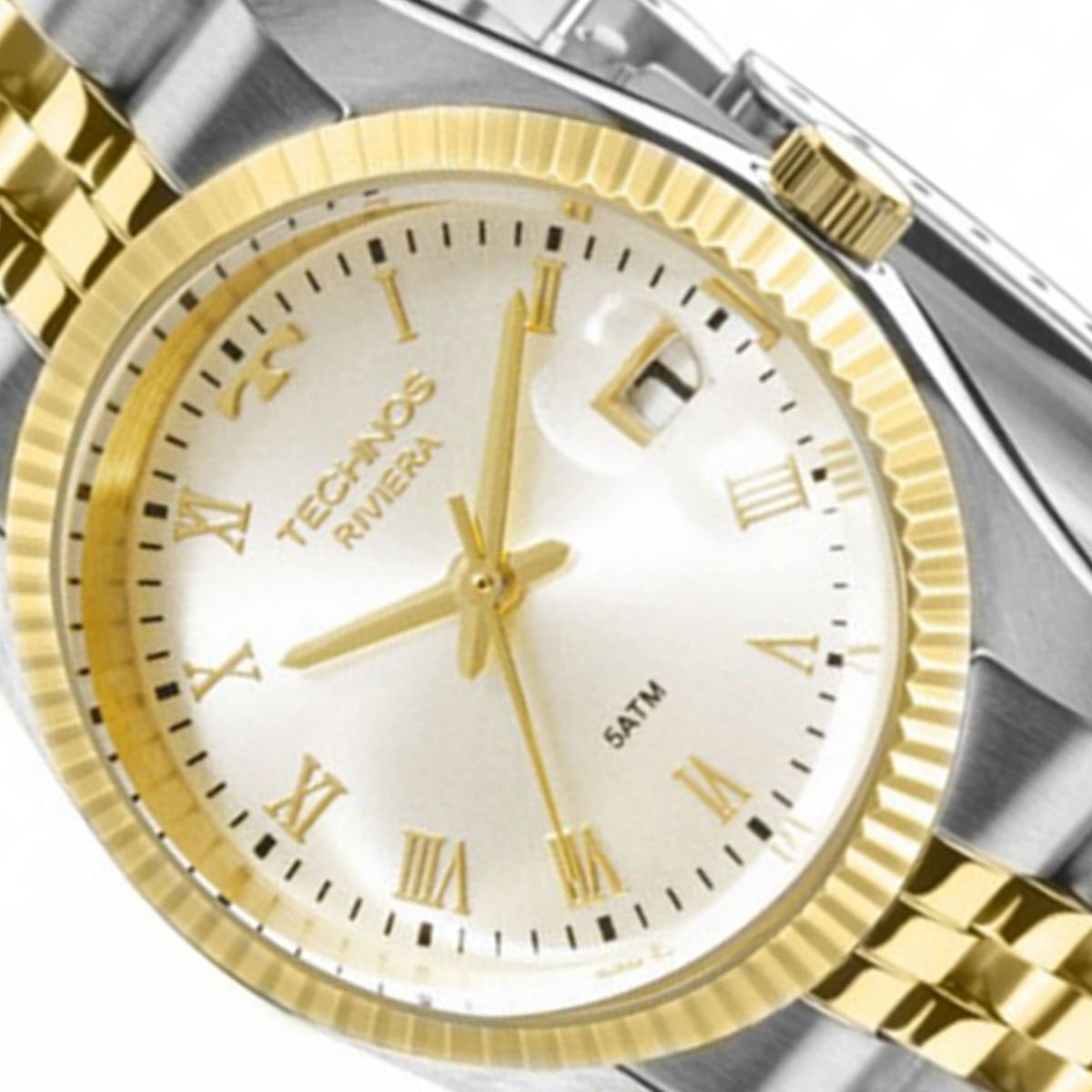 Relógio Technos Analógico Feminino Riviera Gl10Hz 1K
