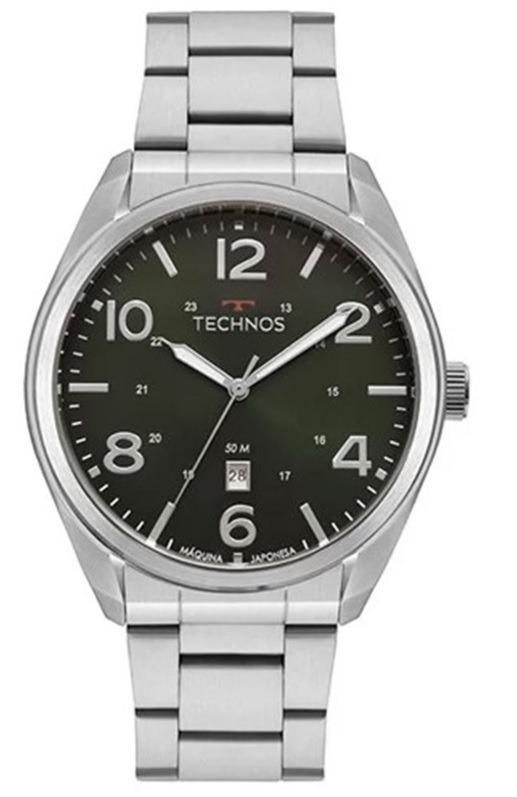 Relógio Technos Classic Steel Masculino 2115Mta/1V
