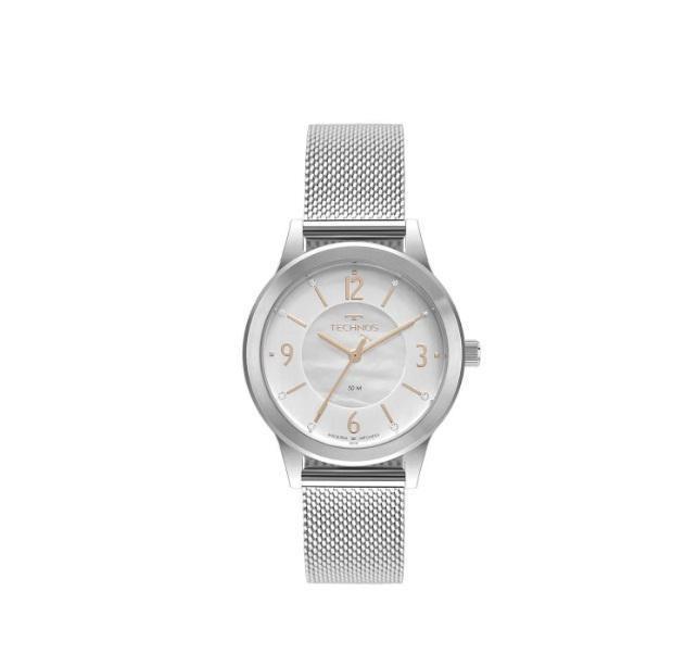 Relógio Technos Fashion Trend Feminino Prateado 2039Bz/5K