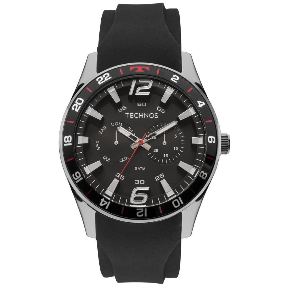 Relógio Technos Masculino Racer 6P25Bn/8P Aço