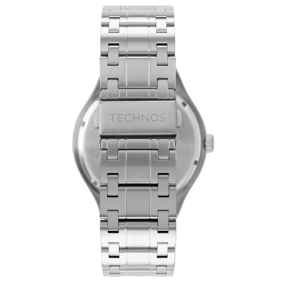 Relógio Technos Masculino Steel Prata 2117Lbt/1K