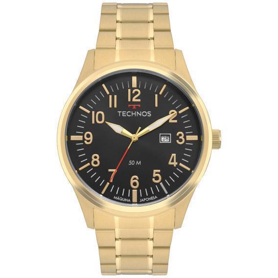 Relógio Technos Steel Masculino 2115Mtd/4P Dourado