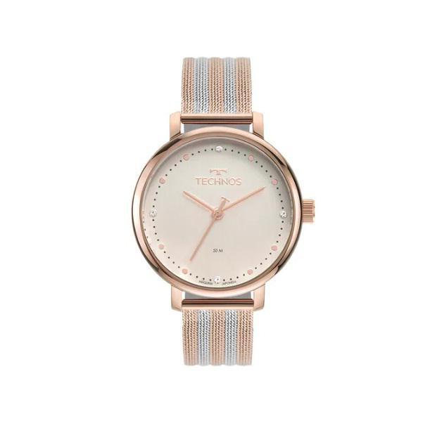 Relógio Technos Style Feminino Bicolor 2035Msv/1T