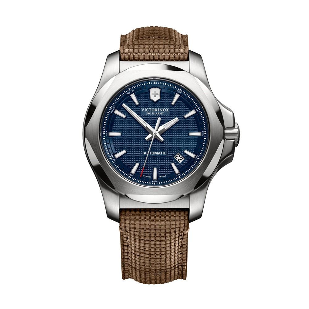 Relógio Victorinox 241834 I.N.O.X. Couro Marrom Automatic Original