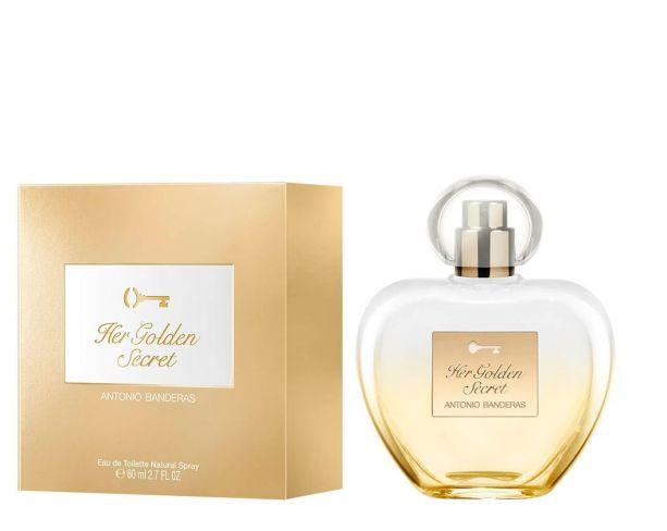 Antonio Banderas Her Golden secret New EDT 80ml