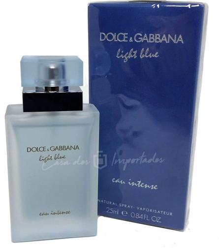 D&G  Light Blue Intense Feminino EDT