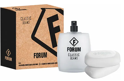 Kit Fórum Jeans Deo Cologne