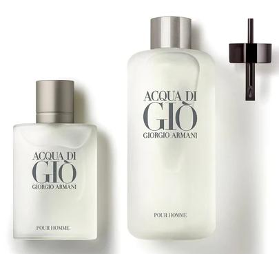Kit  Giorgio Armani Refil Masculino Acqua Di Gio EDT