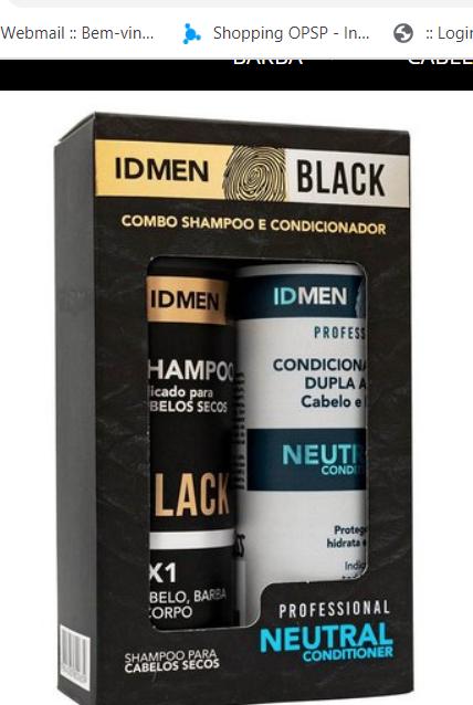 KiT Id Men Black Combo