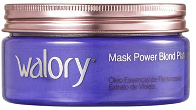 Máscara de Tratamento Walory Power Blond Platinum 200g