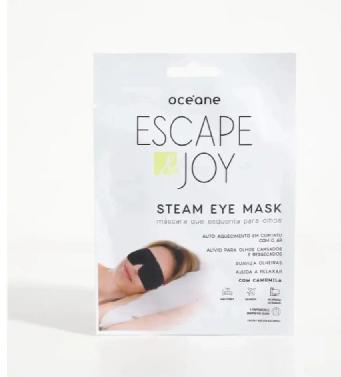 Océane Steam Eye Mask, Máscara que Esquenta para Olhos