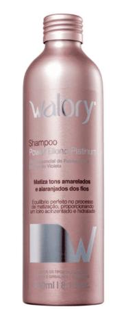 Shampoo Walory Power Blond Platinum 240ml