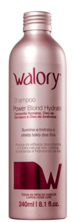 Walory Shampoo Professional Power Blond Hydrate