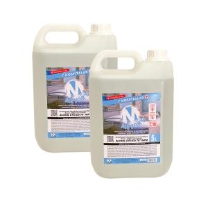 2 UN Álcool Líquido Etílico Hidratado 70° INPM 5 litros Meyors