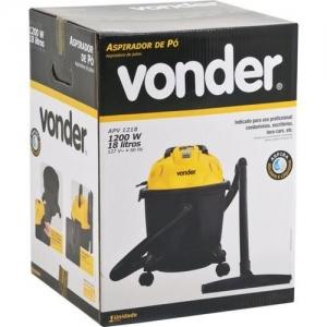 Aspirador de Pó e Líquidos APV 1218 18 litros Vonder