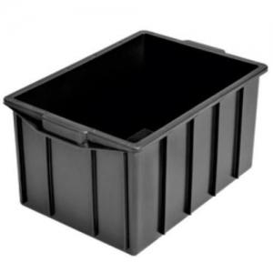 Caixa Plástica 130 litros Preta