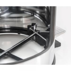 Lixeira inox com pedal Tramontina Brasil acabamento polido balde interno removível 5 litros