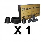 Kit Borrachas de Vedação para Stem e Carvão de Coco 1kg - Cosmic