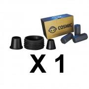 Kit Borrachas de Vedação para Stem e Carvão de Coco 250g - Cosmic