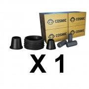 Kit Borrachas de Vedação para Stem e Carvão de Coco 2kg - Cosmic