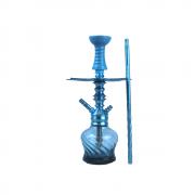 Narguile Valhalla Thor Completo Azul Vaso Stem Prato Rosh Piteira e Mangueira - Cosmic