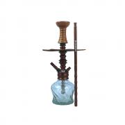 Narguile Valhalla Thor Completo Bronze Vaso Stem Prato Rosh Piteira e Mangueira - Cosmic