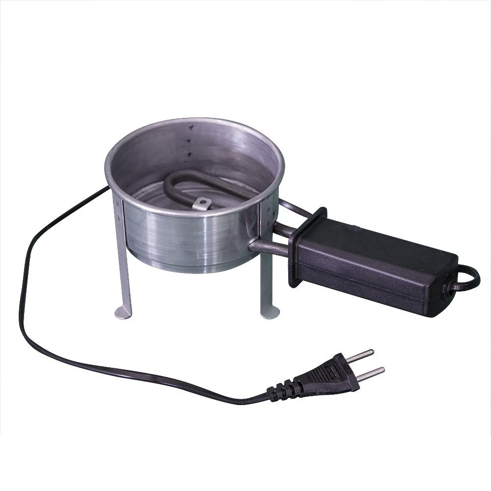 Kit Acendedor Fogareiro Elétrico 110V e Carvão de Coco 4kg - Cosmic