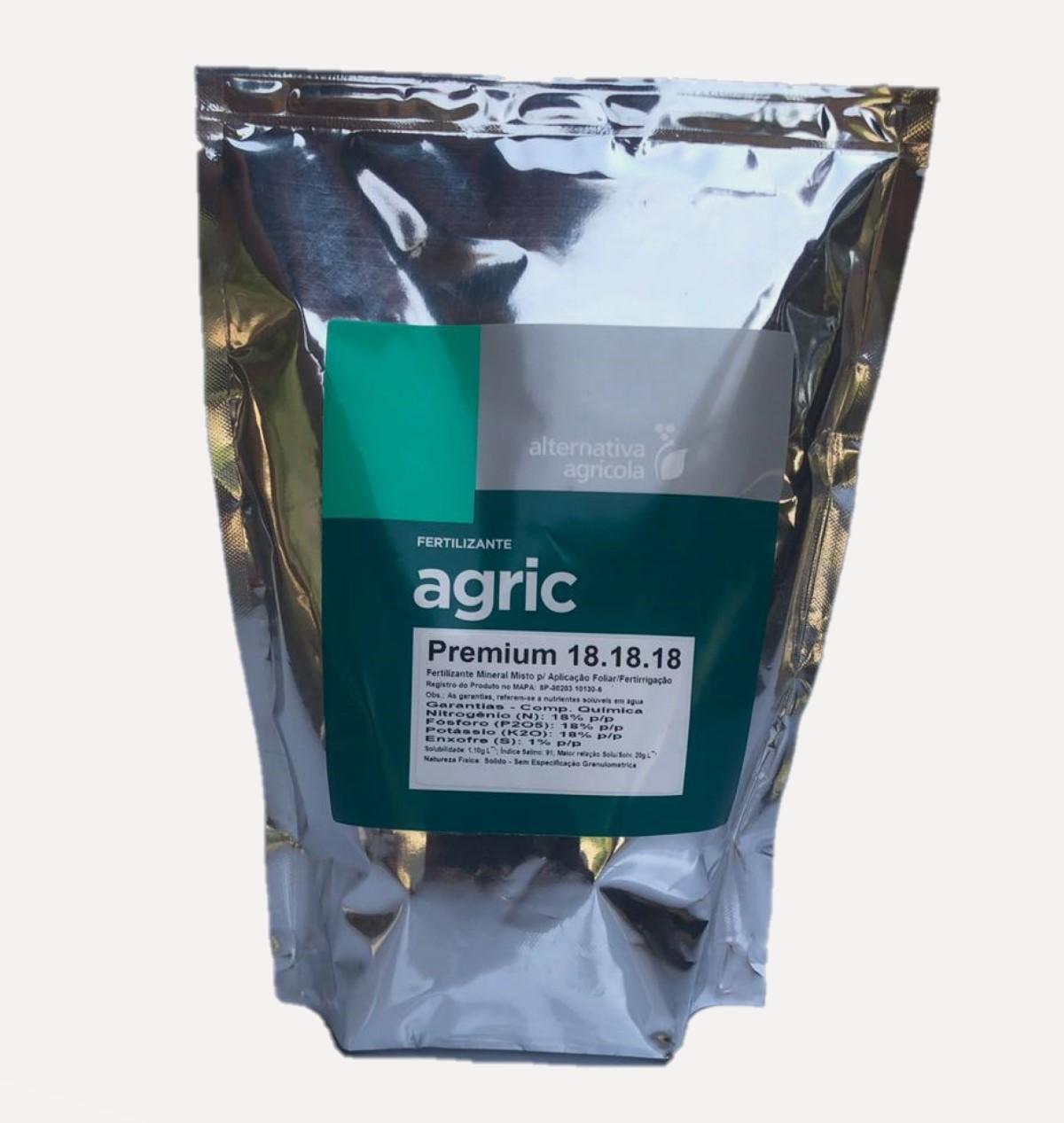 Adubo Orquídea - Agric Premium 18-18-18
