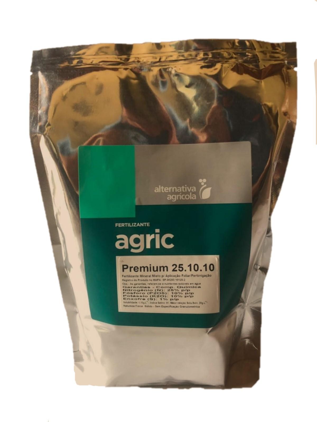 Adubo Orquídea - Agric Premium 25-10-10