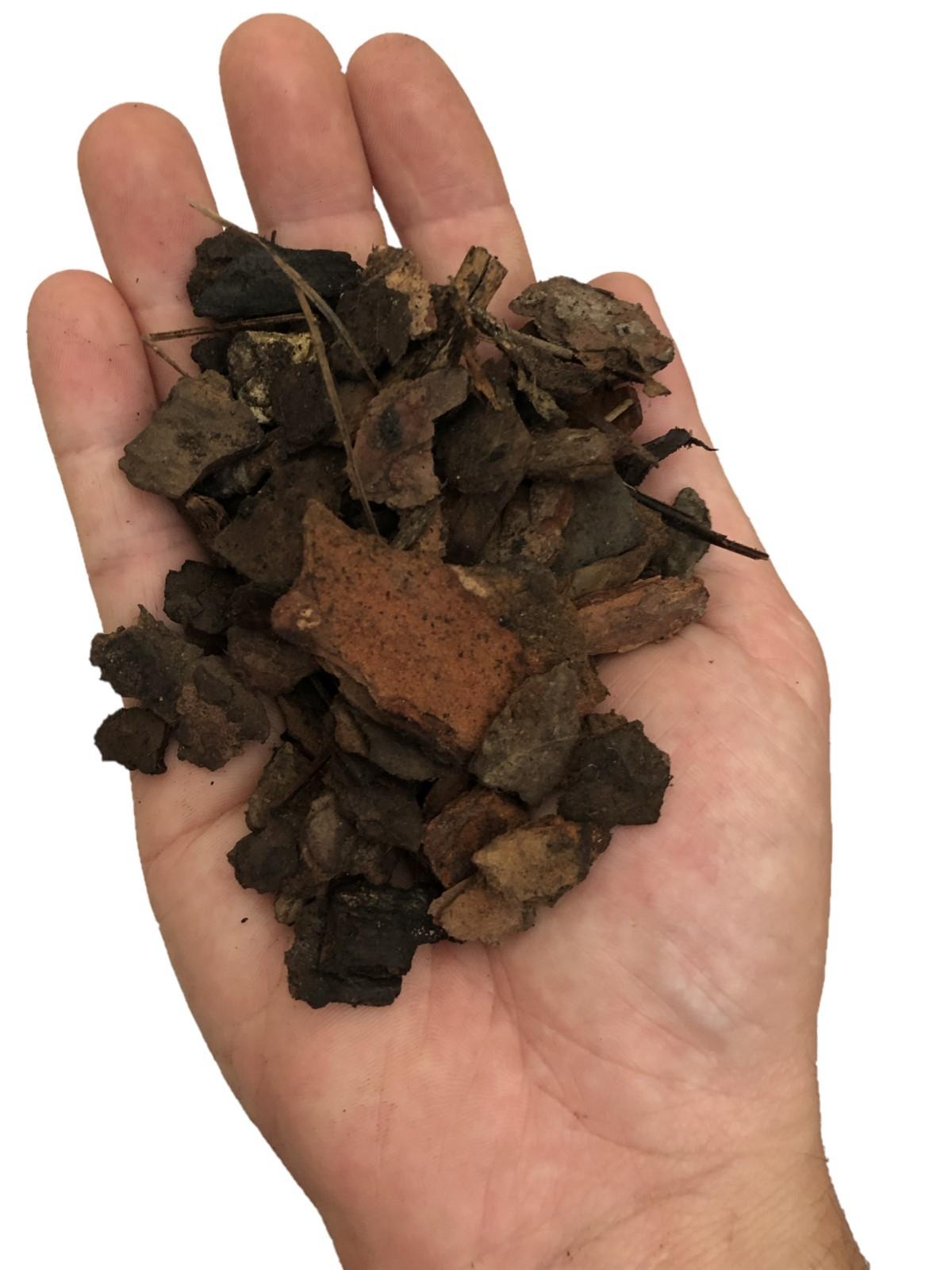 Substrato para Orquídea - mix de casca de pinus, carvão e chips de coco
