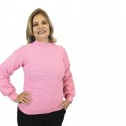 Blusão Rosa Tricot 4973