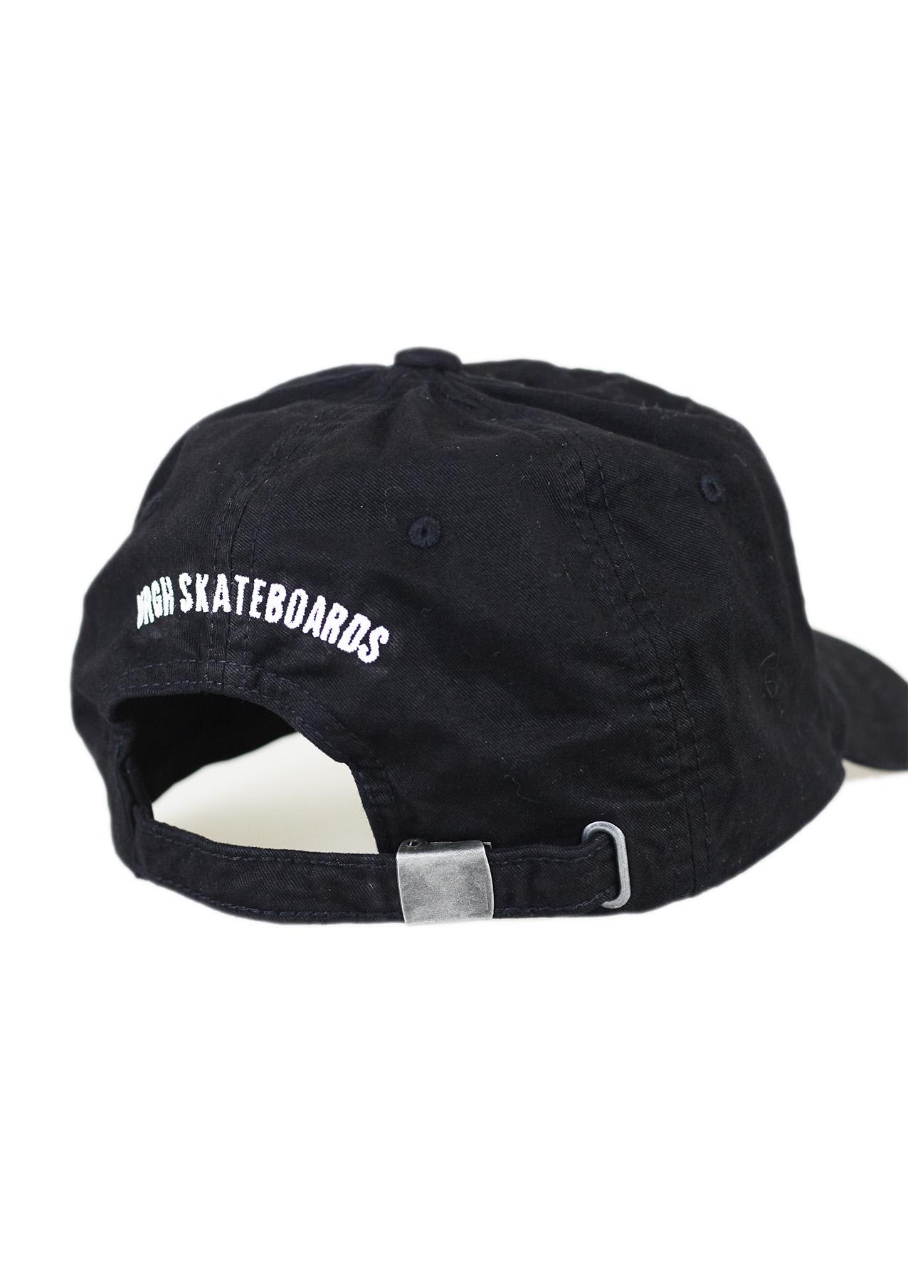 dad hat logo preto