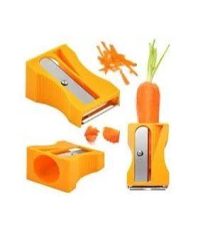 Descascador e Apontador de Legumes - Amarelo