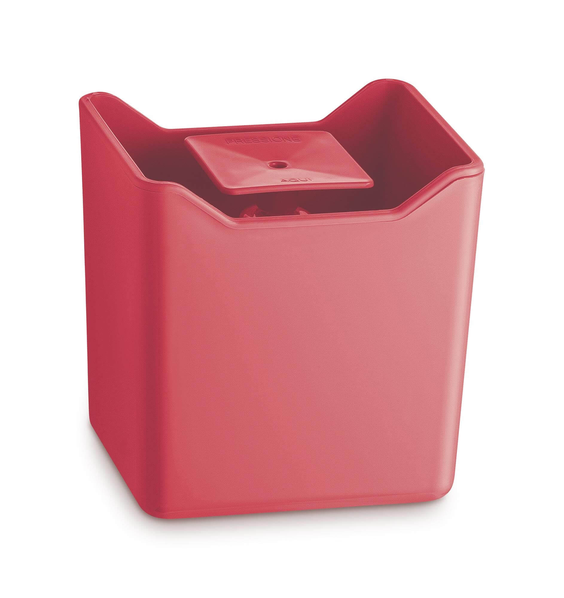 Dispenser Porta Detergente Plástico UZ Coral