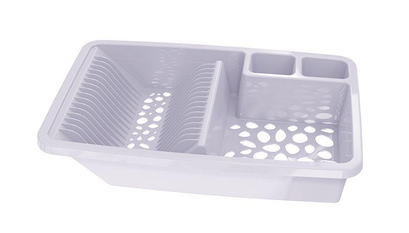 Escorredor de Louças Plastico UZ - Branco