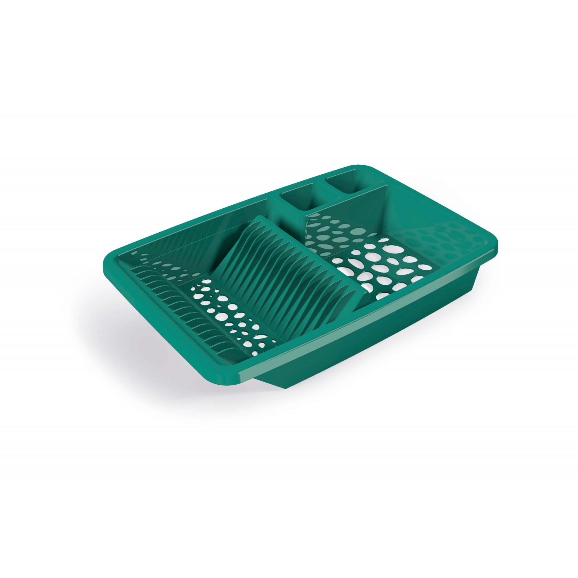 Escorredor de Louças Plastico UZ - Verde