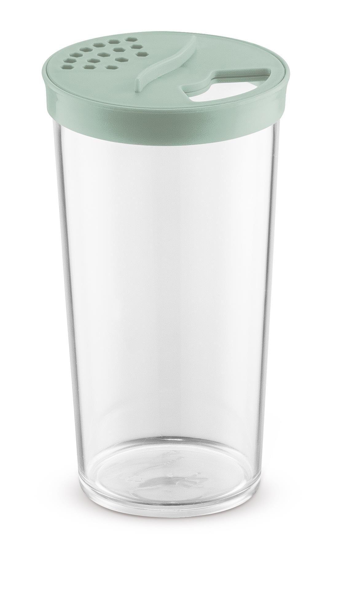 Farinheiro Grande 500ml Plástico Acrílico Uz Verde Menta